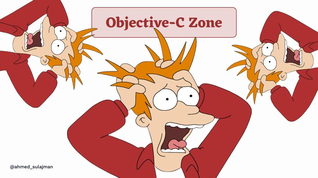 @ahmed_sulajman Objective-C Zone