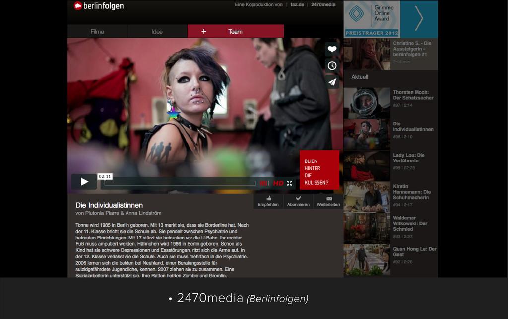• 2470media (Berlinfolgen)