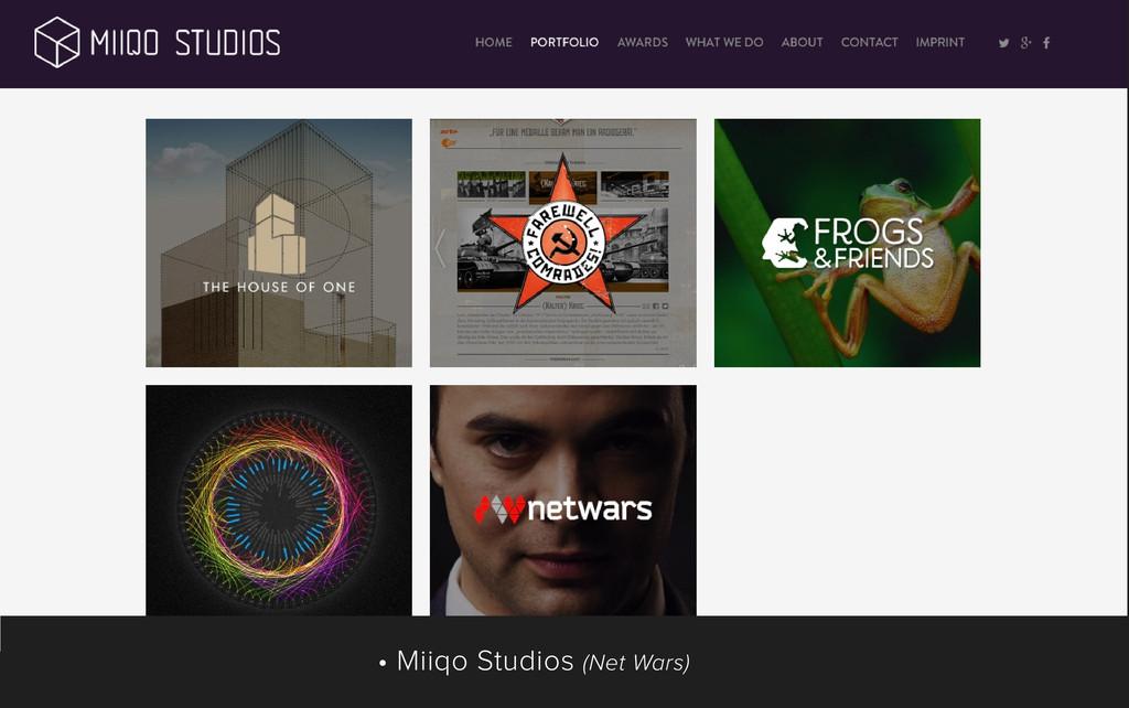 • Miiqo Studios (Net Wars)