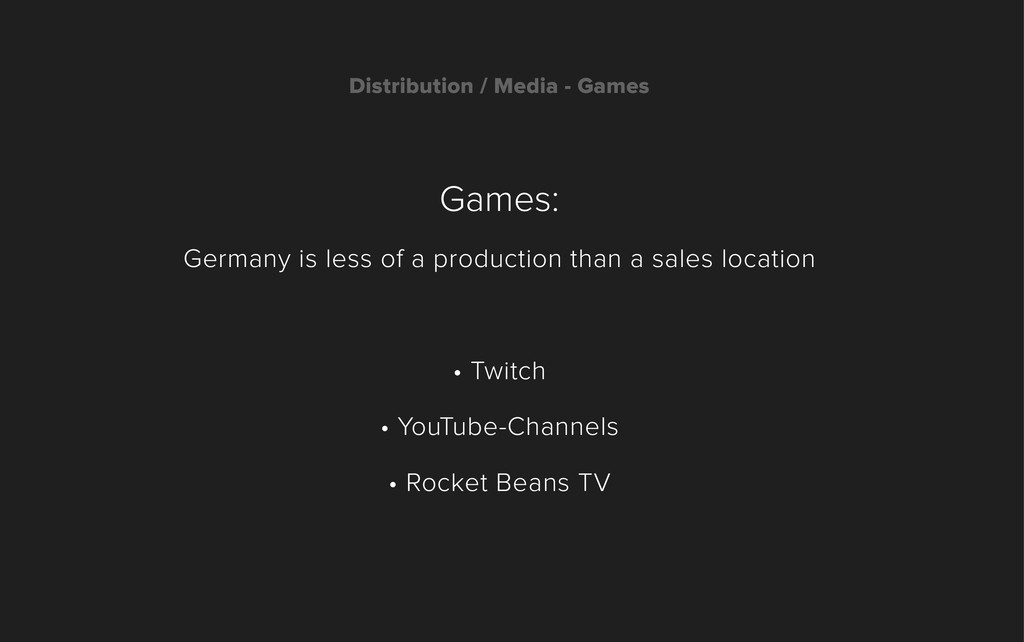 Games: Germany is less of a production than a s...