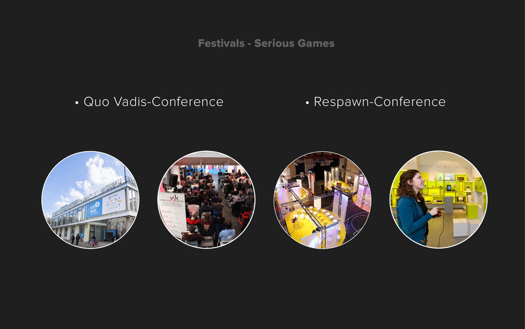 Festivals - Serious Games • Respawn-Conference ...