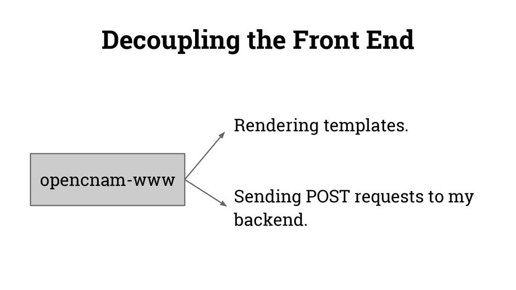 opencnam-www Rendering templates. Sending POST ...