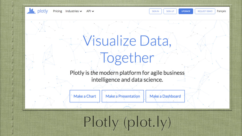 Plotly (plot.ly)