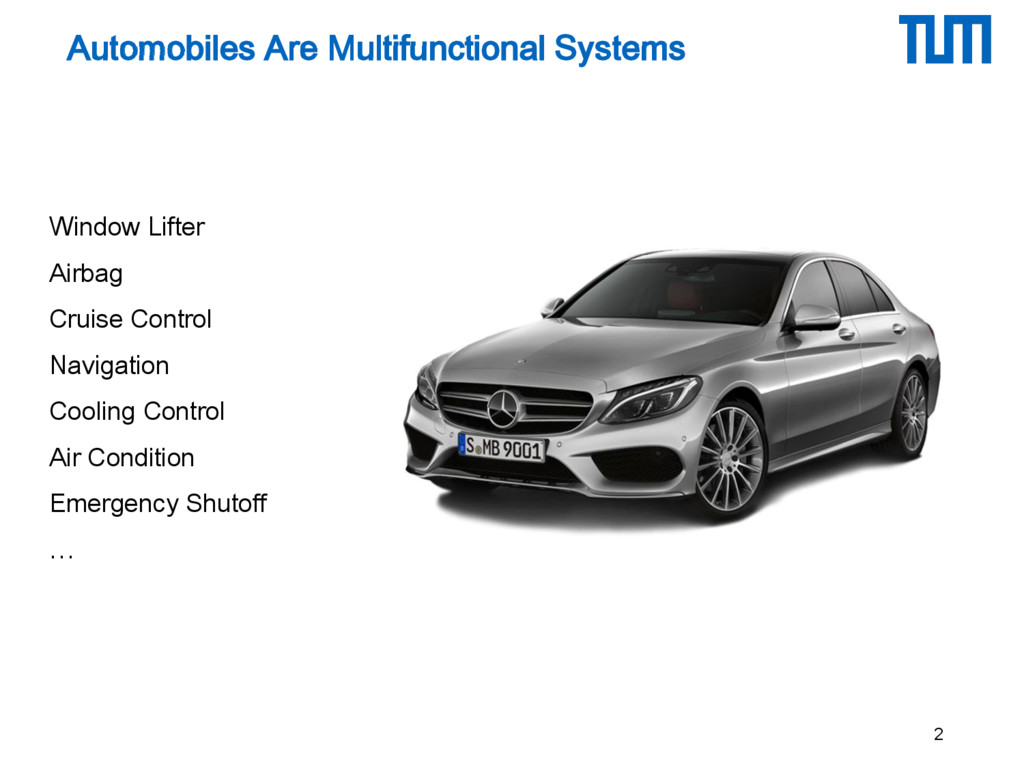 Automobiles Are Multifunctional Systems 2 Windo...