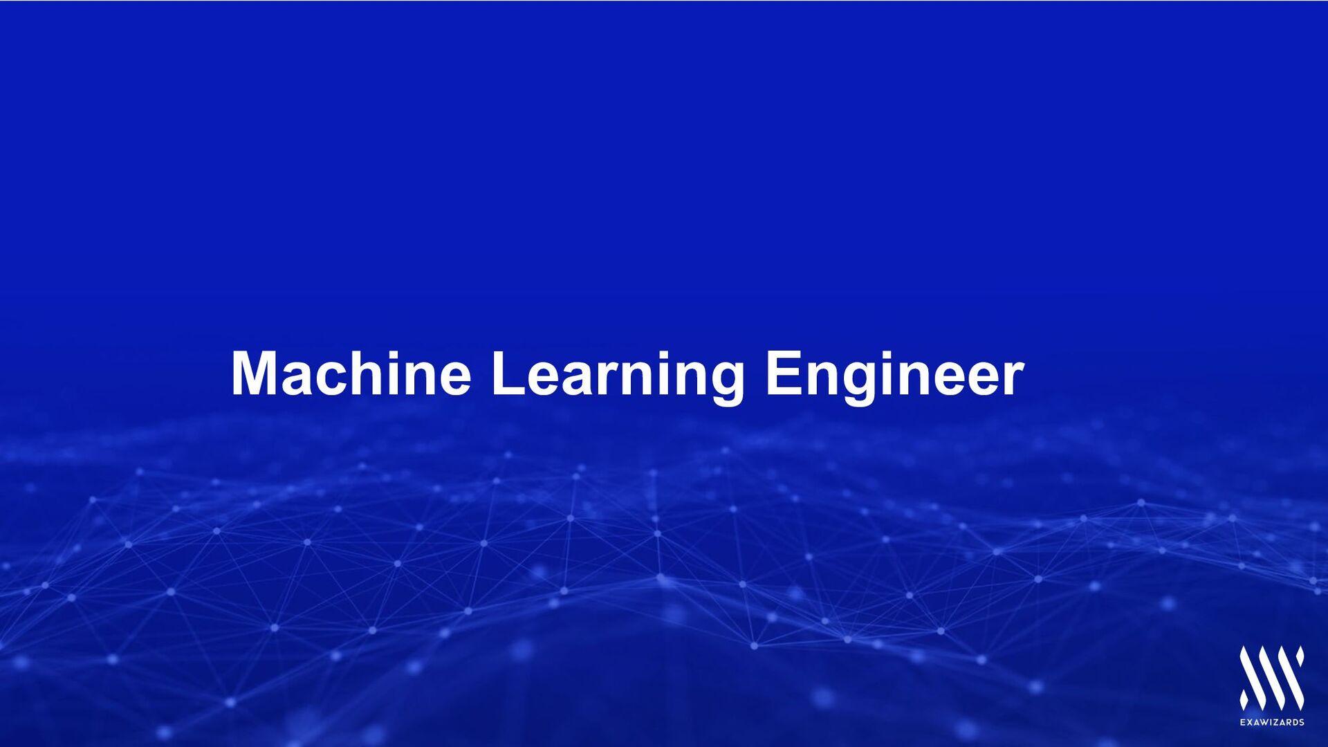 ExaWizards Machine Learning Engineer