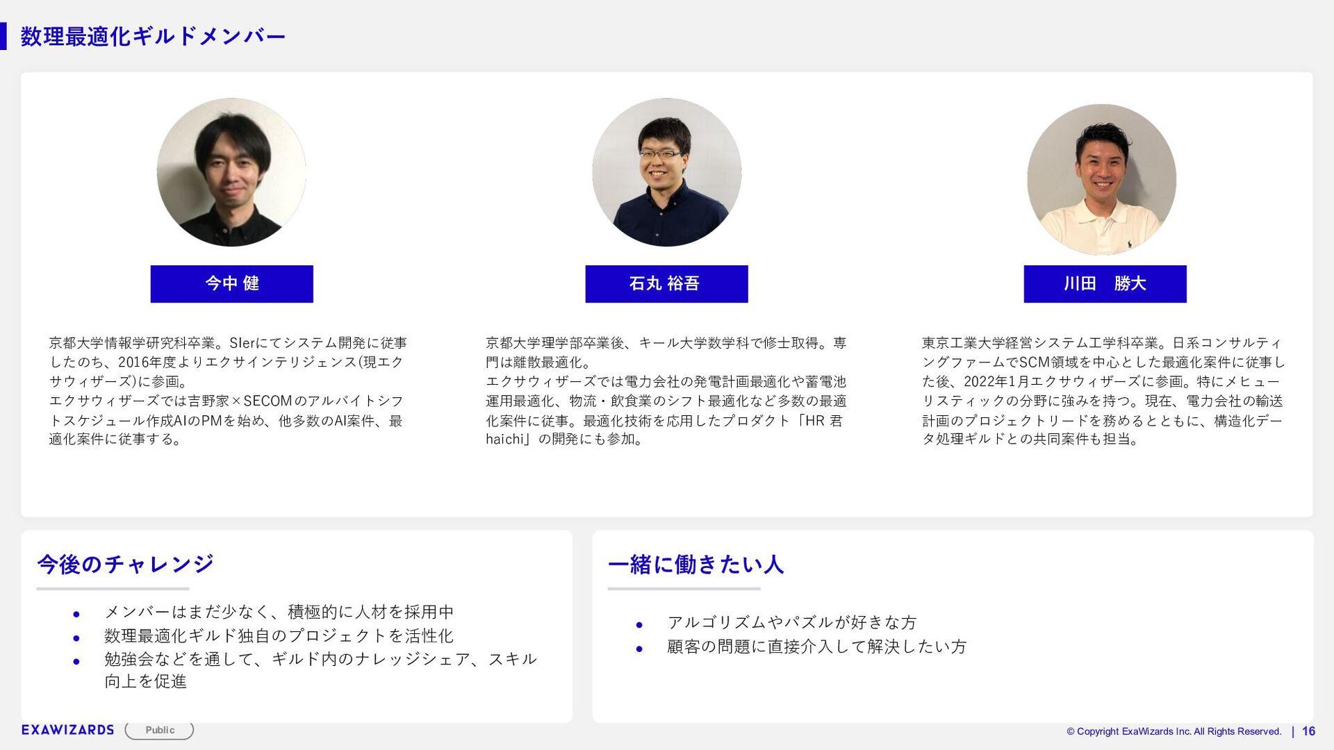 STRICTLY CONFIDENTIAL   17 各ギルド紹介_画像ギルド ■ギルドのpo...