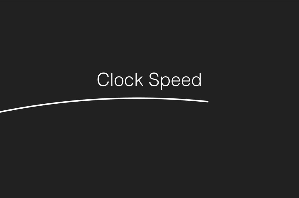 Clock Speed