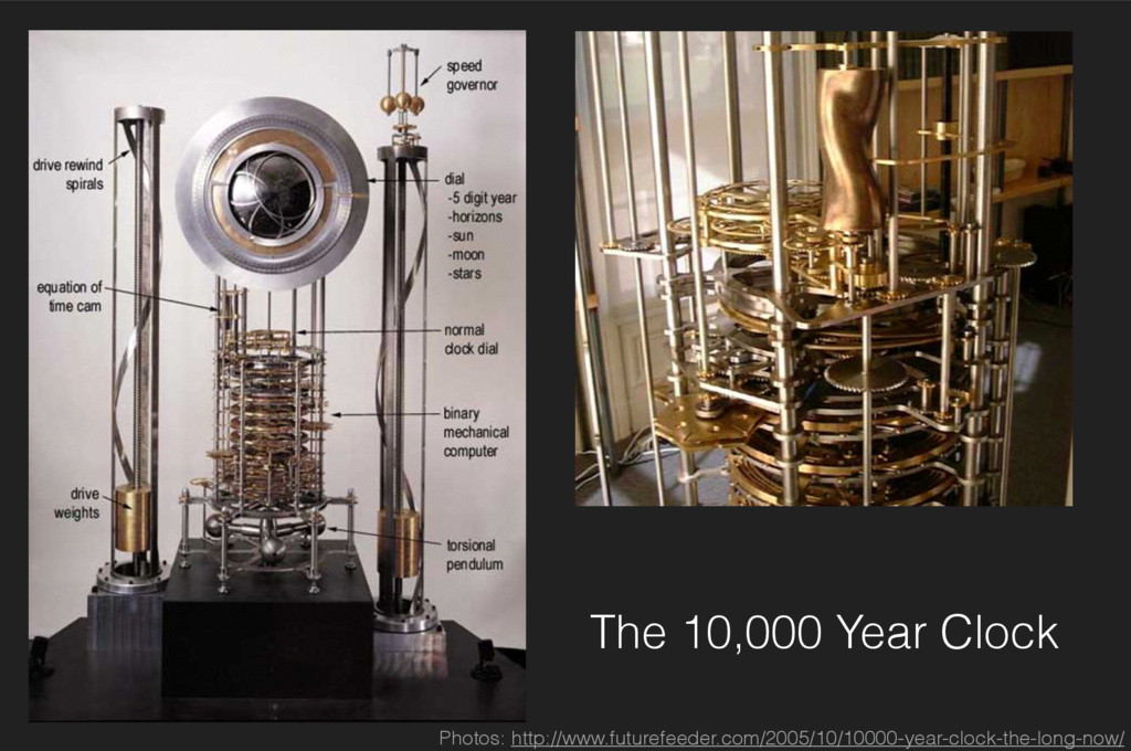 The 10,000 Year Clock Photos: http://www.future...
