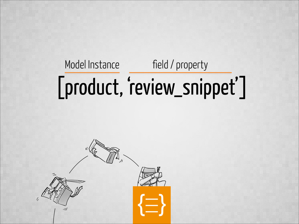 text [product, 'review_snippet'] Model Instance...