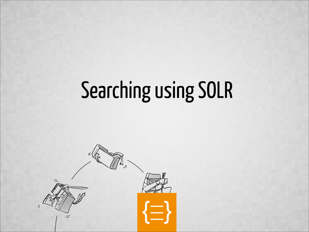 text Searching using SOLR