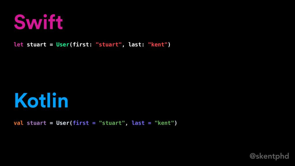 """@skentphd Swift let stuart = User(first: """"stuar..."""