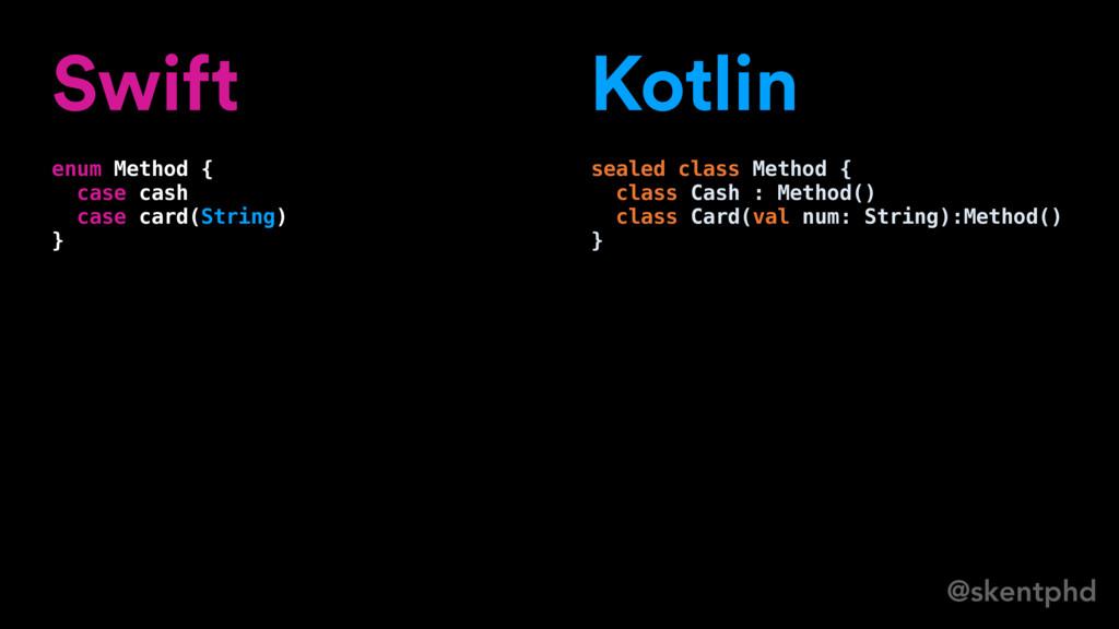 @skentphd Swift enum Method { case cash case ca...