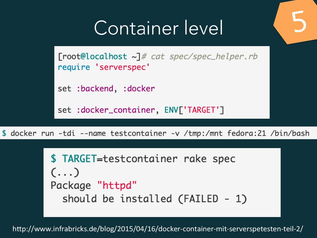 Container level 5 h&p://www.infrabricks.de/blog...