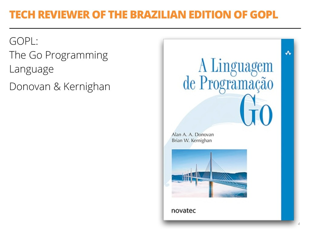 TECH REVIEWER OF THE BRAZILIAN EDITION OF GOPL ...