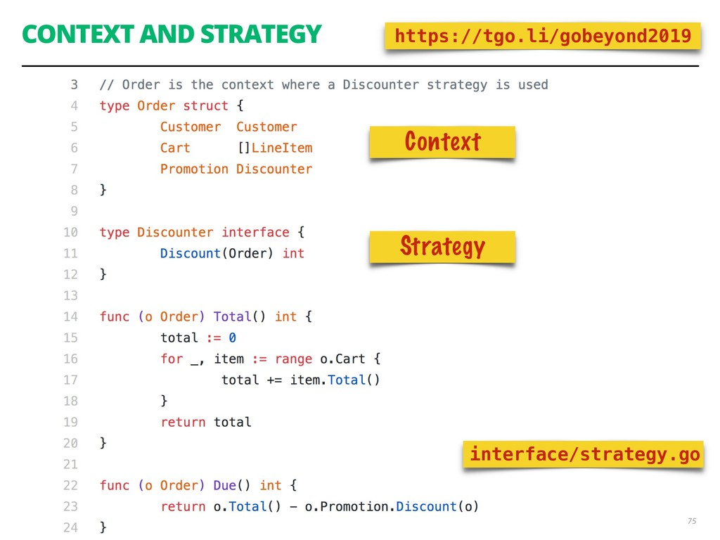 CONTEXT AND STRATEGY 75 interface/strategy.go h...
