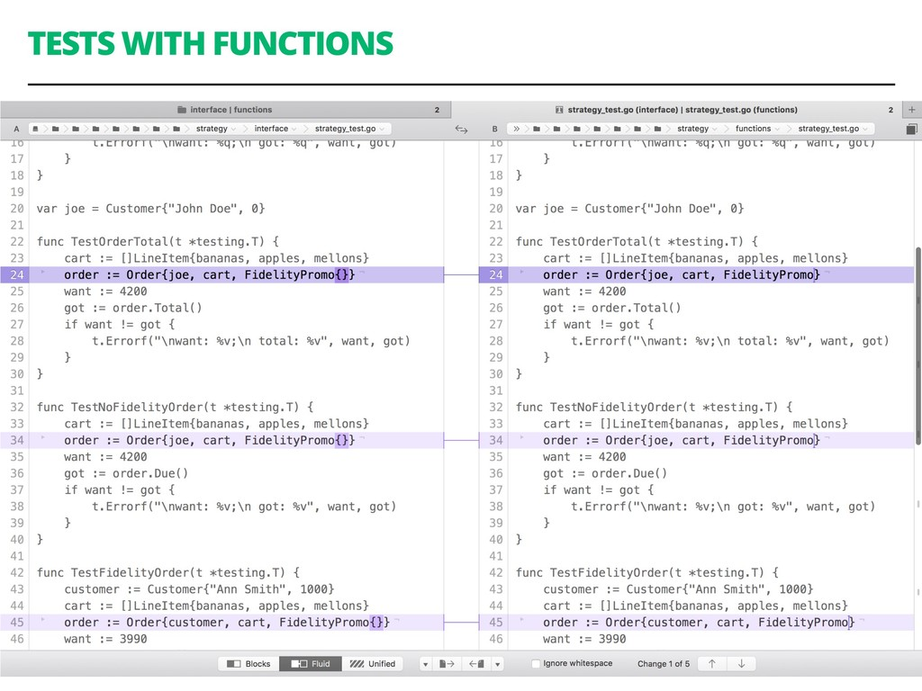 TESTS WITH FUNCTIONS 79