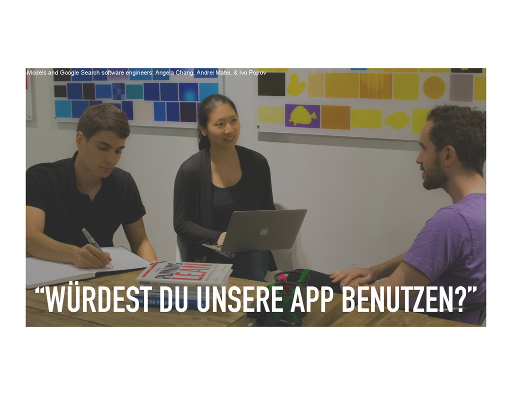 """""""WÜRDEST DU UNSERE APP BENUTZEN?"""" Models and Go..."""
