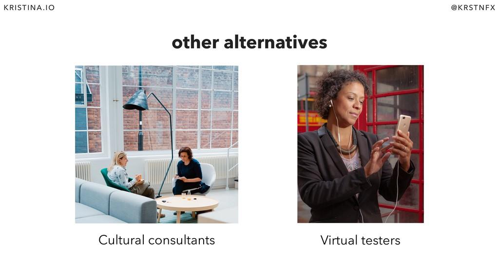 @KRSTNFX KRISTINA.IO other alternatives Cultura...