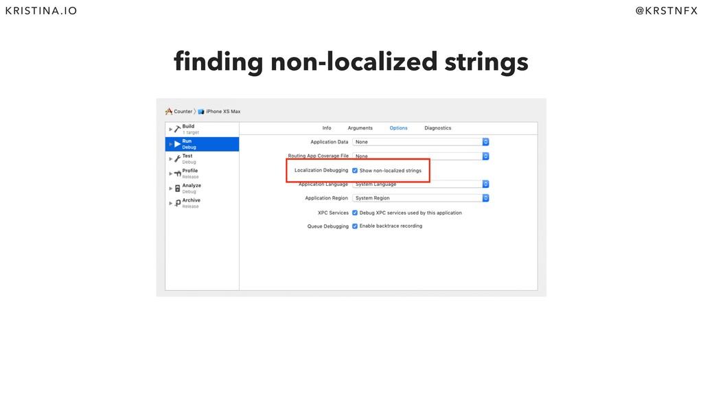 @KRSTNFX KRISTINA.IO finding non-localized strin...