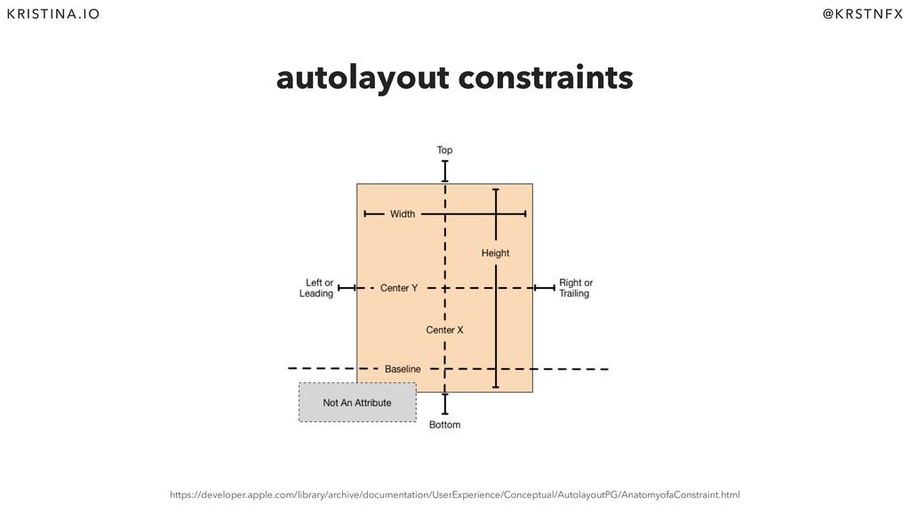 @KRSTNFX KRISTINA.IO autolayout constraints htt...