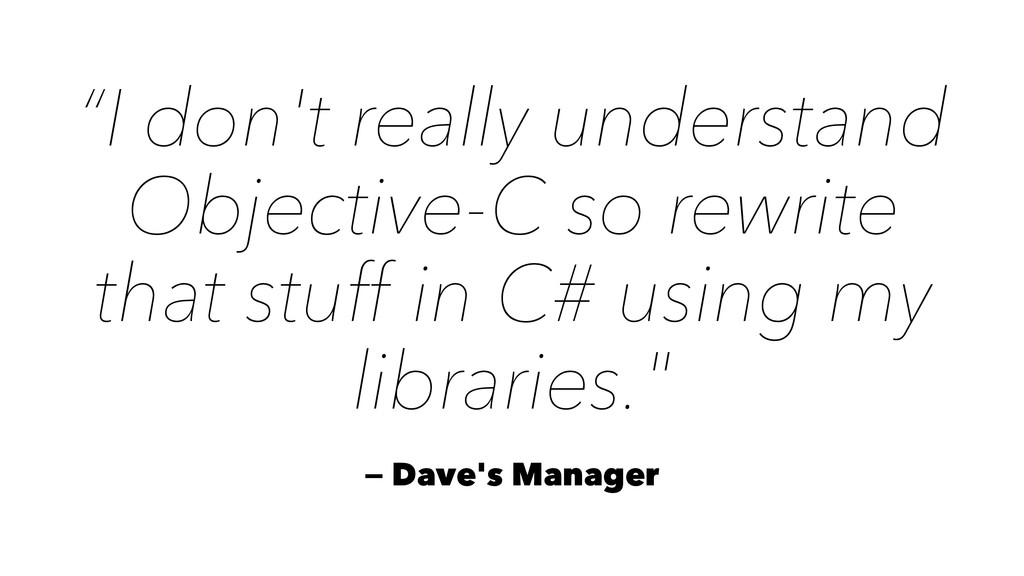 """I don't really understand Objective-C so rewri..."