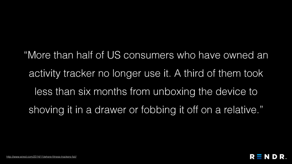 """""""More than half of US consumers who have owned ..."""