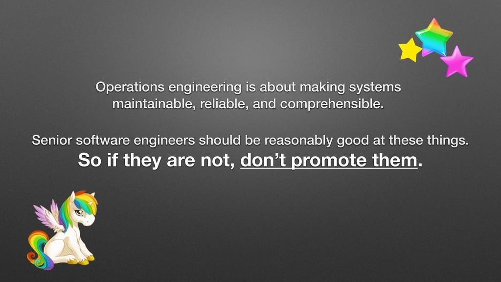 Senior software engineers should be reasonably ...