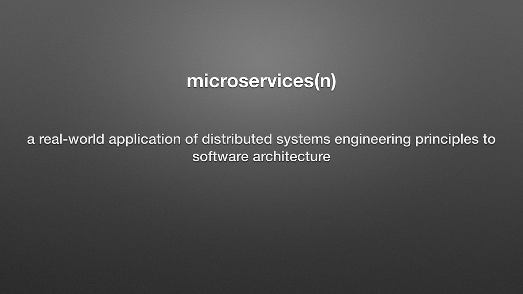 microservices(n) a real-world application of di...
