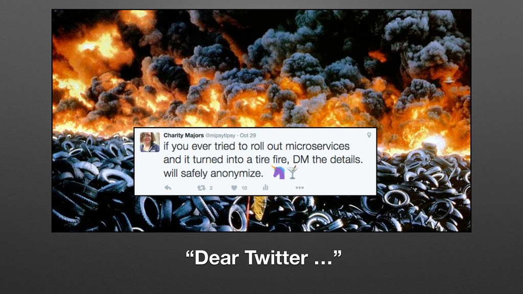 """""""Dear Twitter …"""""""