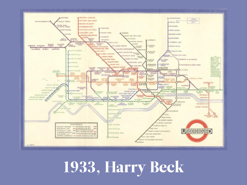 1933, Harry Beck