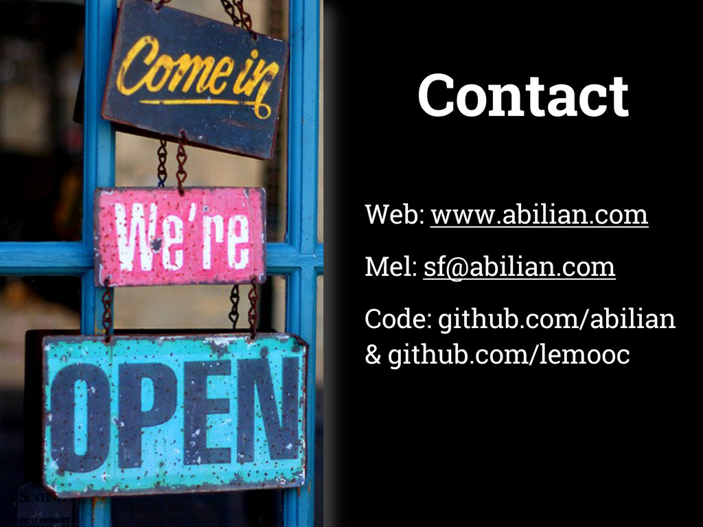 Contact Web: www.abilian.com Mel: sf@abilian.co...