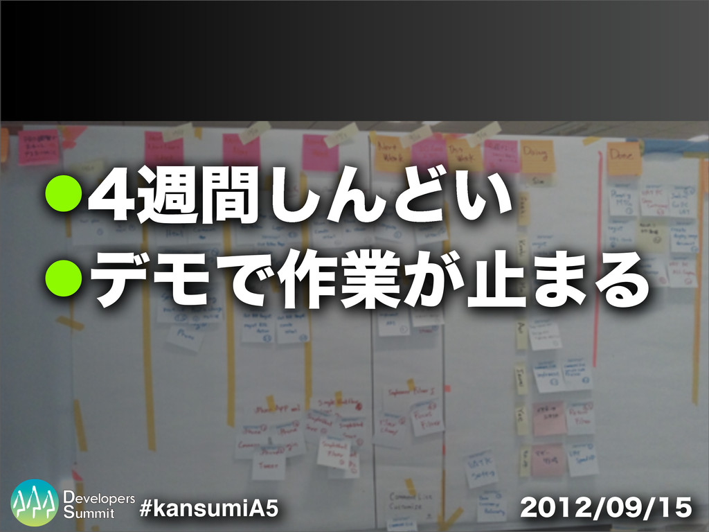 #kansumiA5 !िؒ͠ΜͲ͍ !σϞͰ࡞ۀ͕ࢭ·Δ