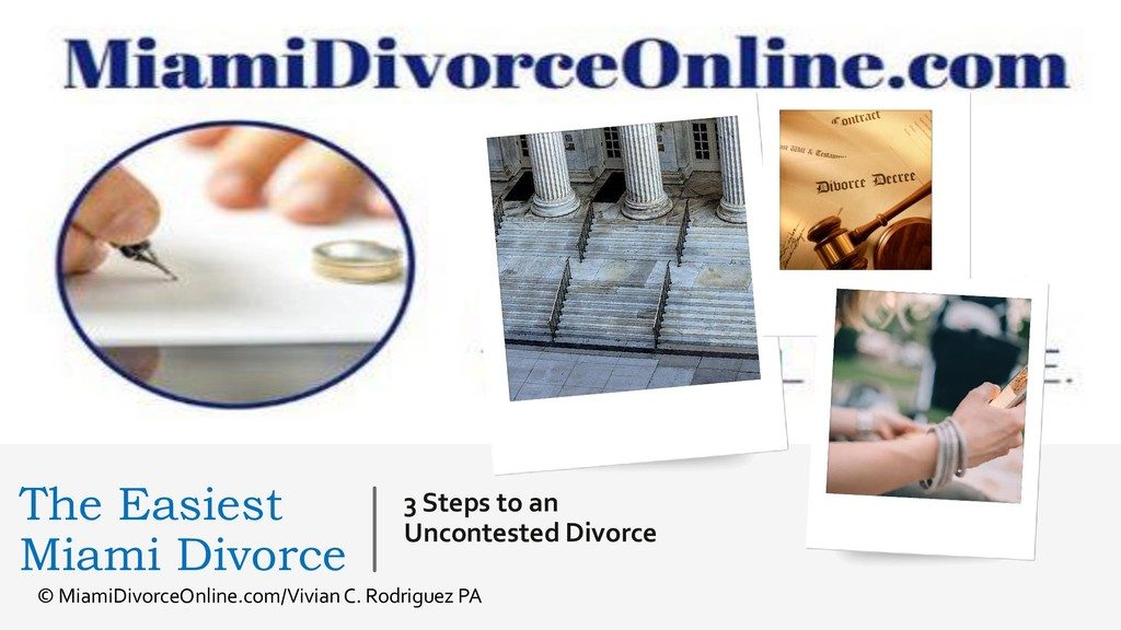3 Steps to an Uncontested Divorce The Easiest M...