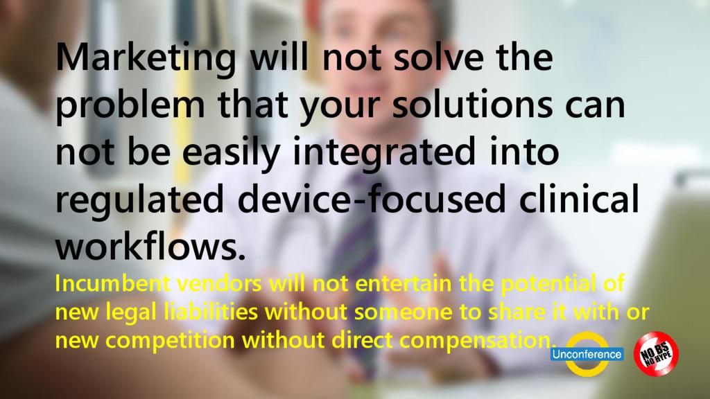 www.netspective.com 13 Marketing will not solve...