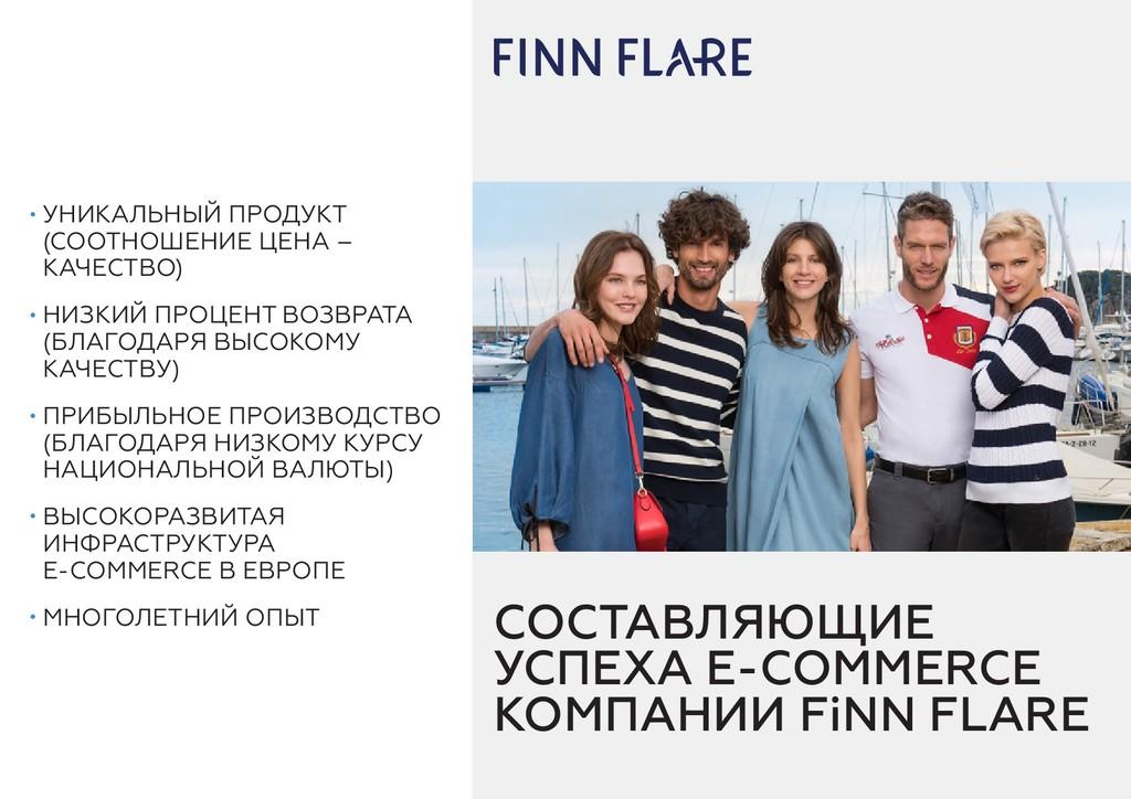 СОСТАВЛЯЮЩИЕ УСПЕХА E-COMMERCE КОМПАНИИ FiNN FL...