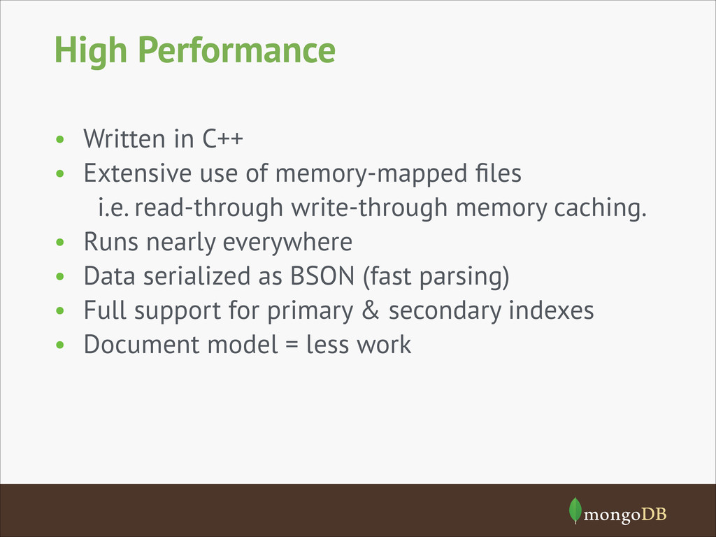 High Performance • Written in C++ • Extensive u...