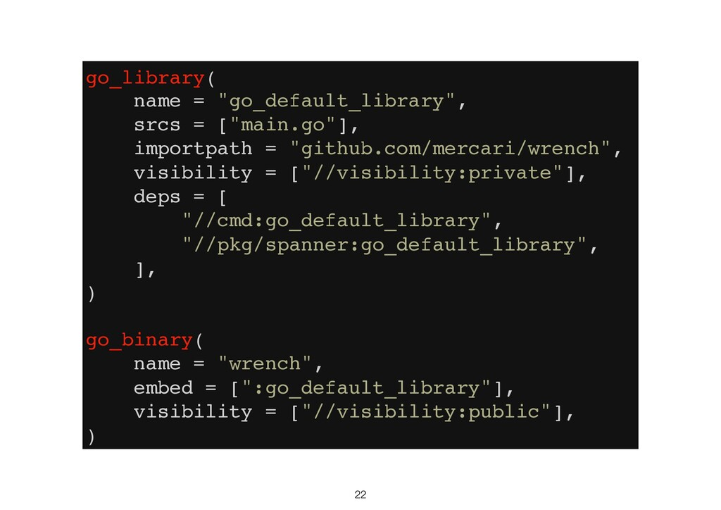 """22 go_library( name = """"go_default_library"""", src..."""