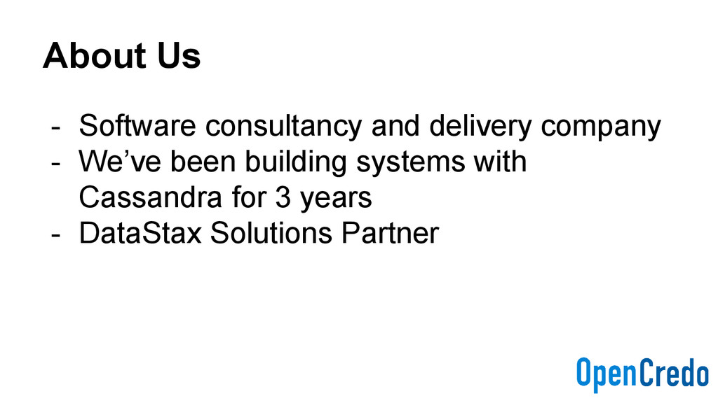 About Us - Software consultancy and delivery co...
