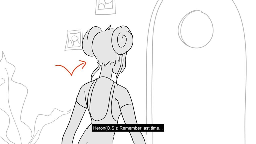 Scene 6 Panel 3 Dialog Heron(O.S.): Remember la...