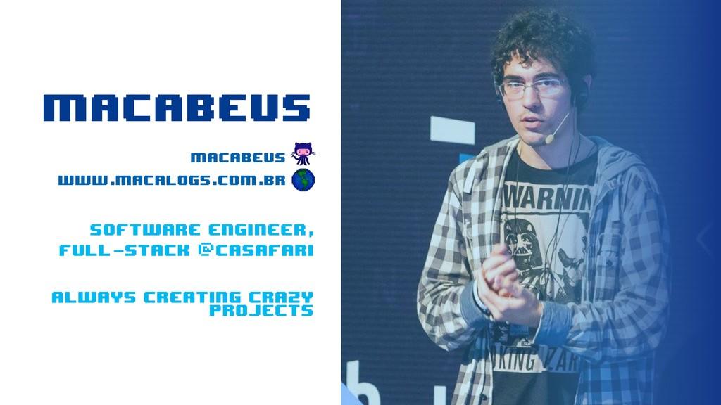 MACABEUS macabeus ____ www.macalogs.com.br _ _ ...
