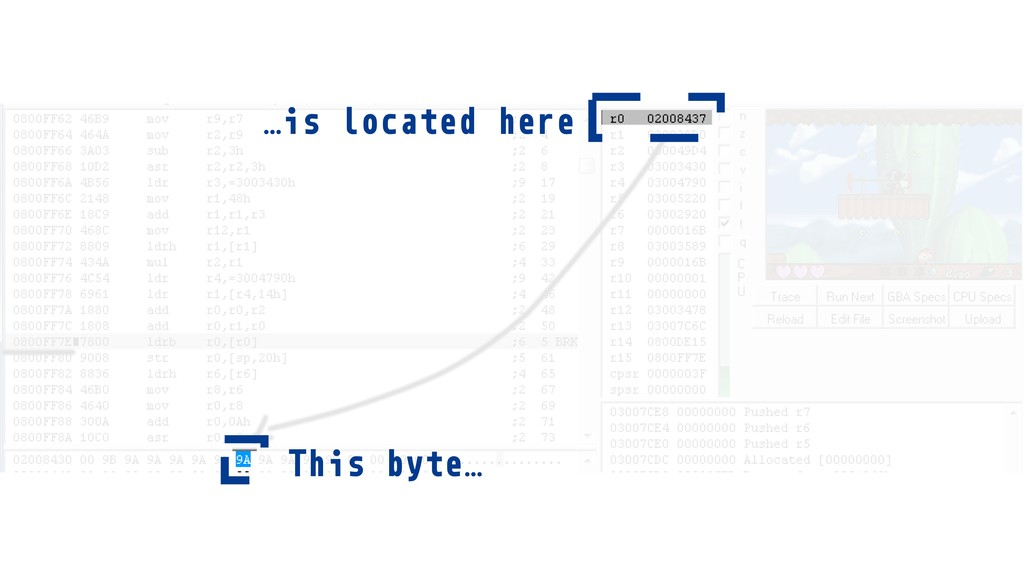 …is located here This byte…