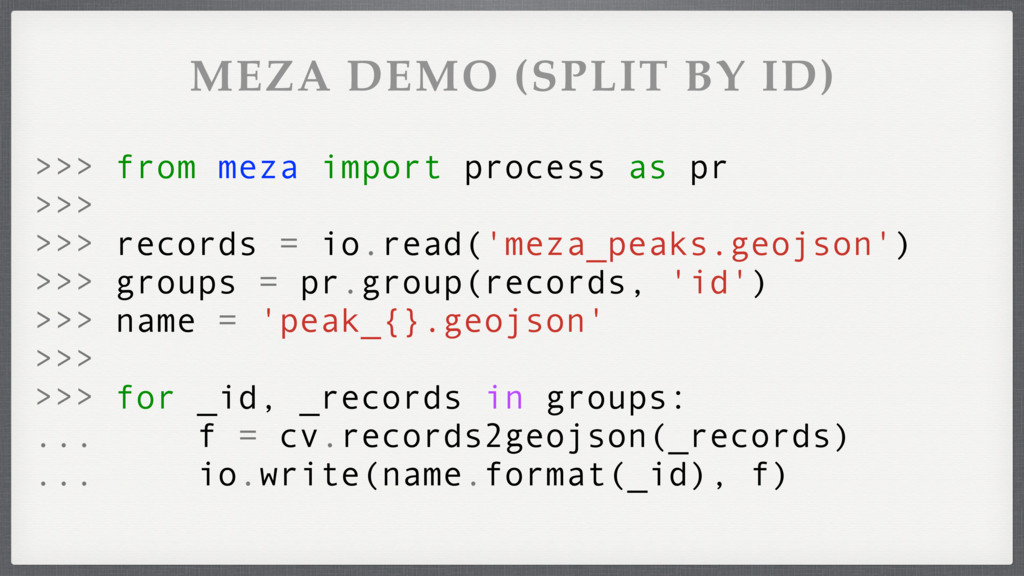 >>> for _id, _records in groups: ... f = cv.rec...