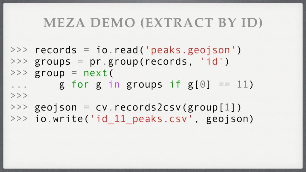 >>> geojson = cv.records2csv(group[1]) >>> io.w...