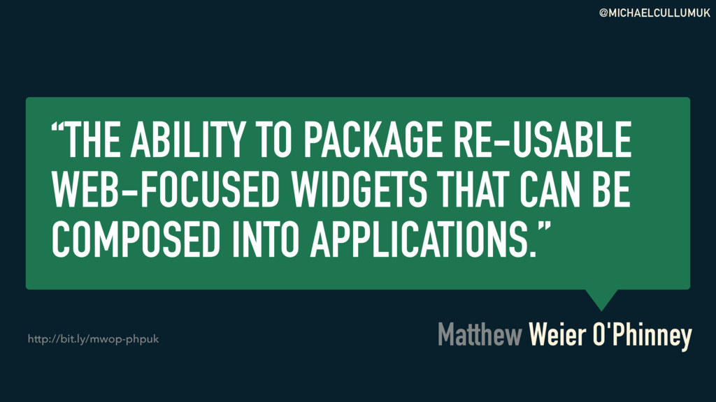 """@MICHAELCULLUMUK """"THE ABILITY TO PACKAGE RE-USA..."""