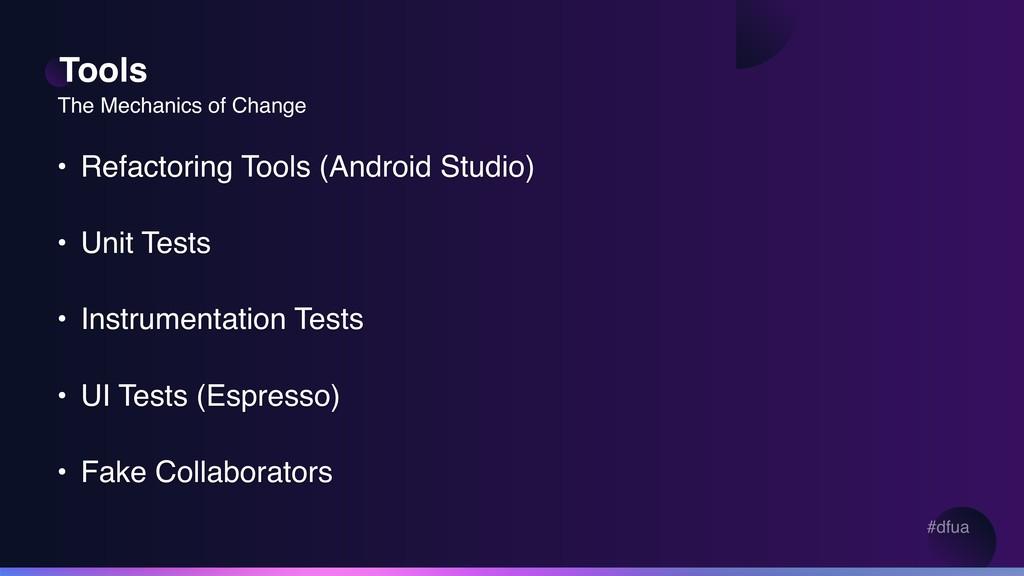 #dfua Tools • Refactoring Tools (Android Studio...