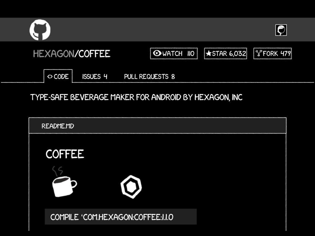 Type-safe beverage maker for android by hexagon...