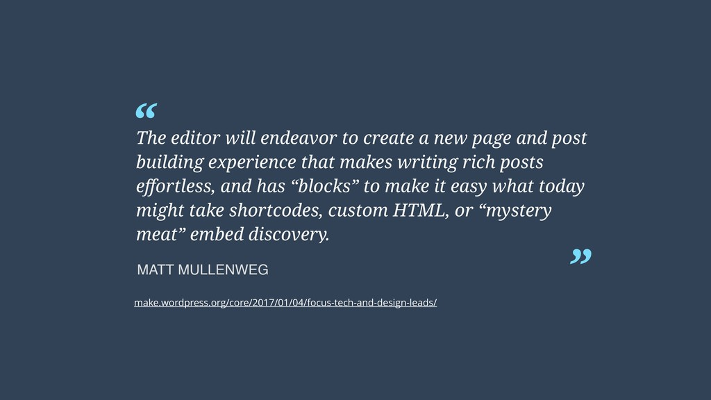 """ "" The editor will endeavor to create a new pa..."