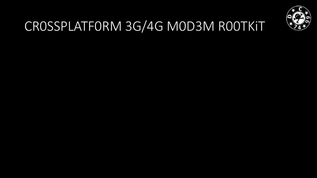 CR0SSPLATF0RM 3G/4G M0D3M R00TKiT