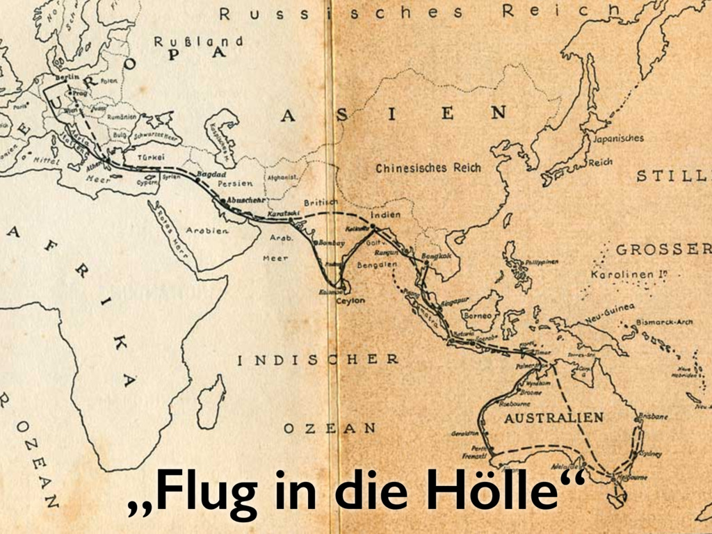 """""""Flug in die Hölle"""""""