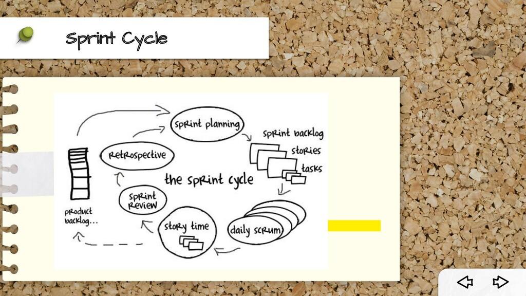 Sprint Cycle